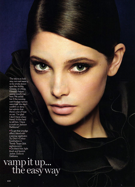 A new look for Ashley Greene