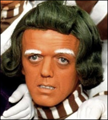 The oompa loompa look