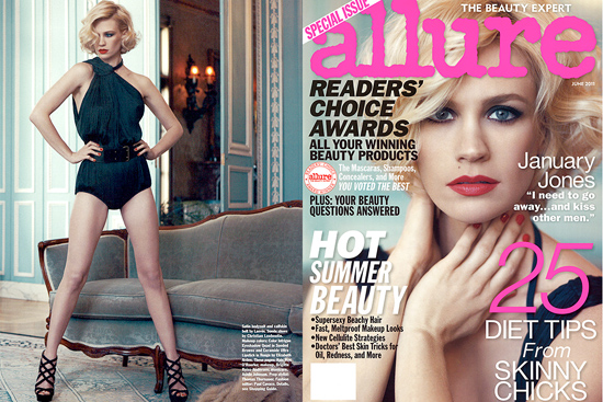January Jones in my version of retro-glam