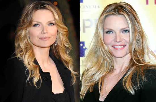 an iconic blonde: Michelle Pfeiffer